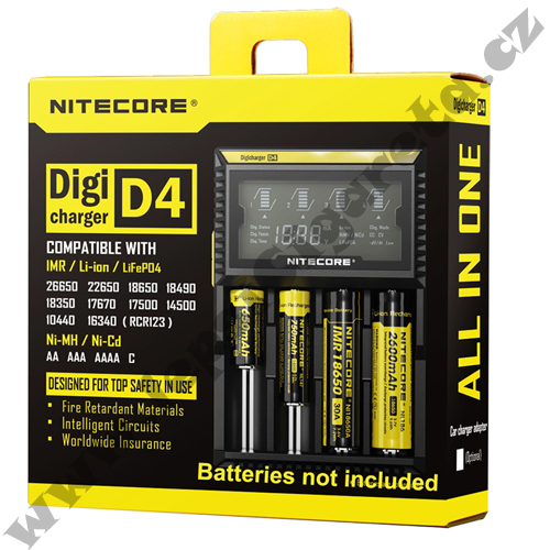DIGICHARGER D4 - NITECORE
