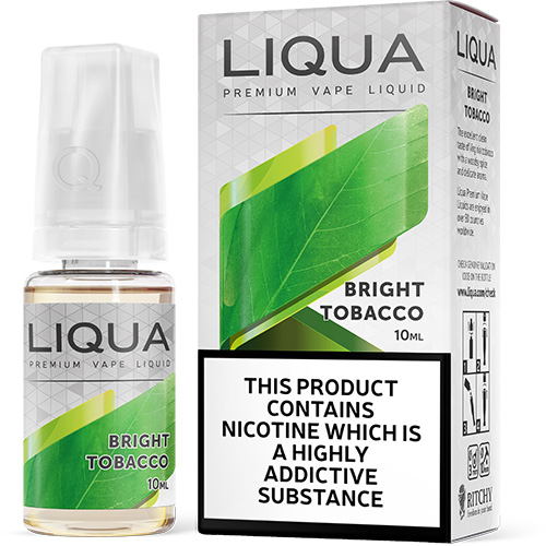 Liqua Elements Tabák Bright 10ml