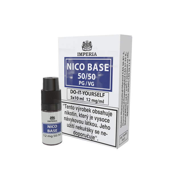 Imperia Báze Nico VPG 50/50 5x10ml 12mg