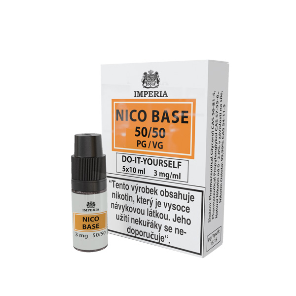 Imperia Báze Nico VPG 50/50 5x10ml 3mg