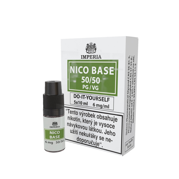 Imperia Báze Nico VPG 50/50 5x10ml 6mg