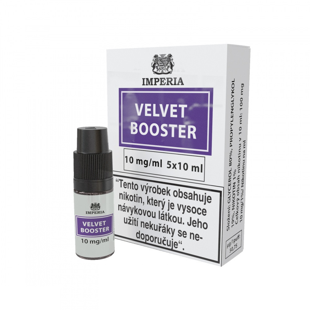 Imperia Booster Velvet 20/80 5x10ml 10mg