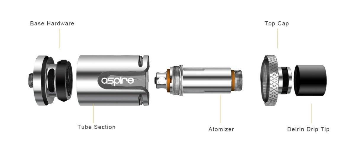 Aspire Cleito EXO 2ml modrá 1ks