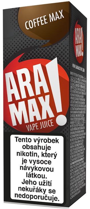 Káva / Coffee - Aramax liquid - 10ml
