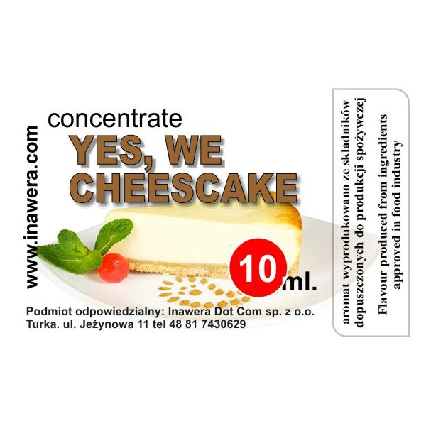 Cheesecake - koncentrát