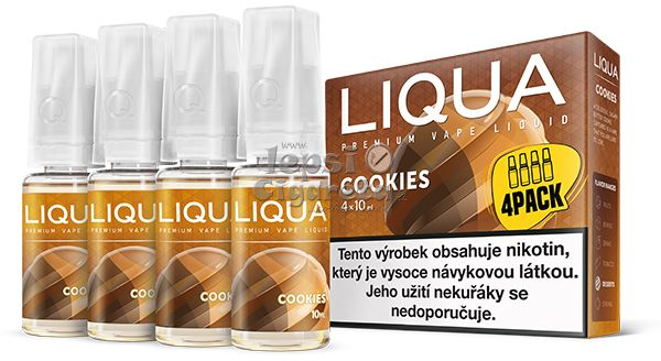 Liqua Elements Cookies 4x10ml