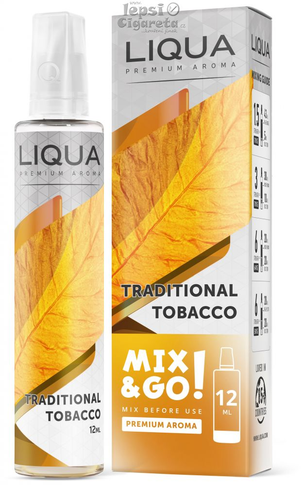 Liqua Mix&Go Traditional tobacco 12ml