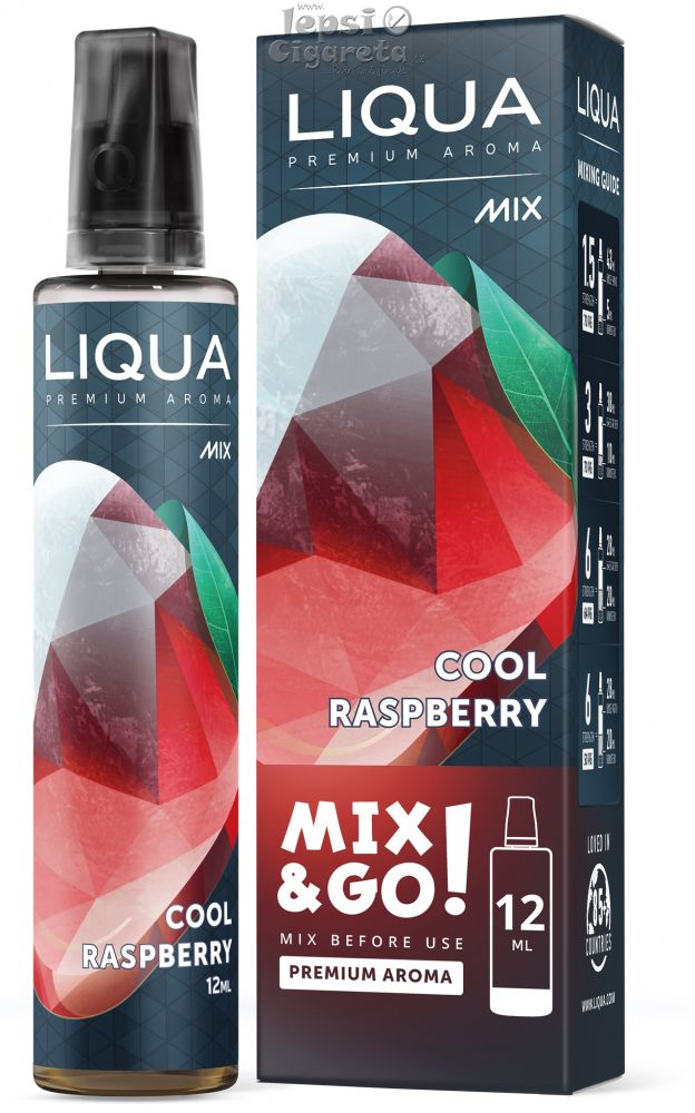 Liqua Mix&Go Cool Raspberry 12ml