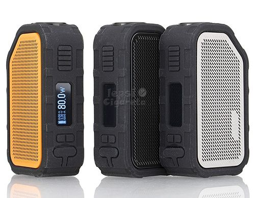 Grip Wismec Active Bluetooth Music TC - stříbrný
