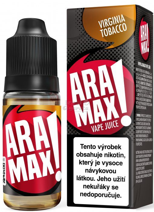 Virginia Tobacco - Aramax liquid - 10ml