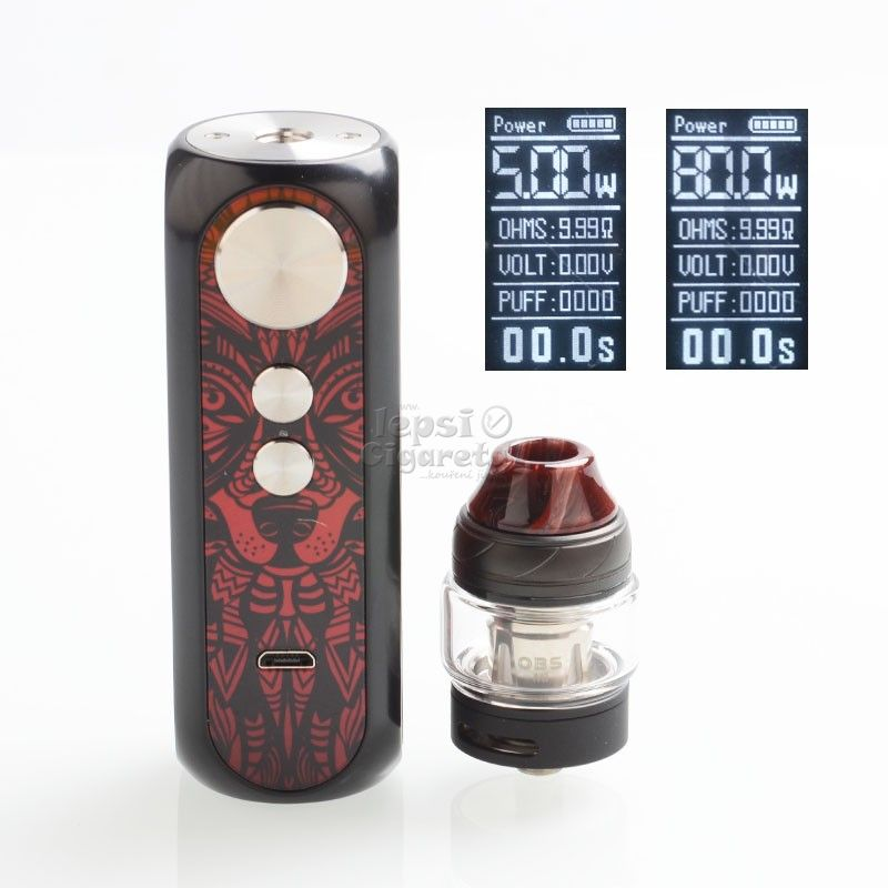 OBS Cube X Box Sada 80W - Bloody Mary