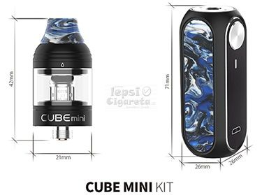 OBS Cube Mini sada 1500 mAh- Sunset