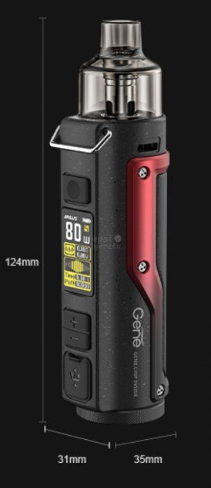 VOOPOO Argus Pro 80W grip 3000mAh Kit VINTAGE GREY AND SILVER