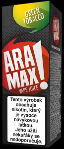 Green Tobacco - Aramax liquid - 10ml