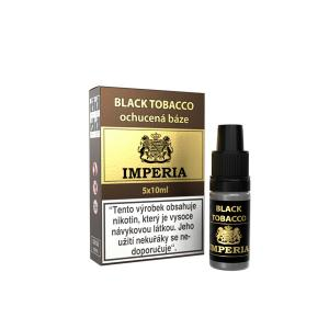 Ochucená báze IMPERIA Black Tobacco 5x10ml
