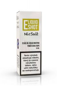 E-liquid Shot booster NicSalt 50/50 10ml 20mg